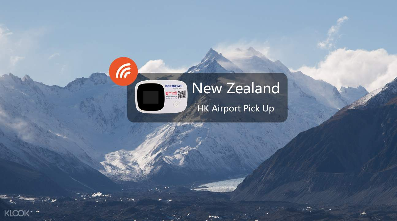 Pocket wifi device for New Zealand & Australia