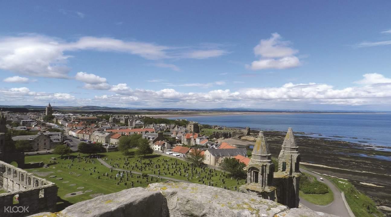 kingdom of fife tour, visit fife in scotland, fife tour, st andrews scotland