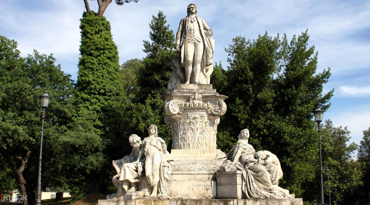 borghese gallery and gardens from rome