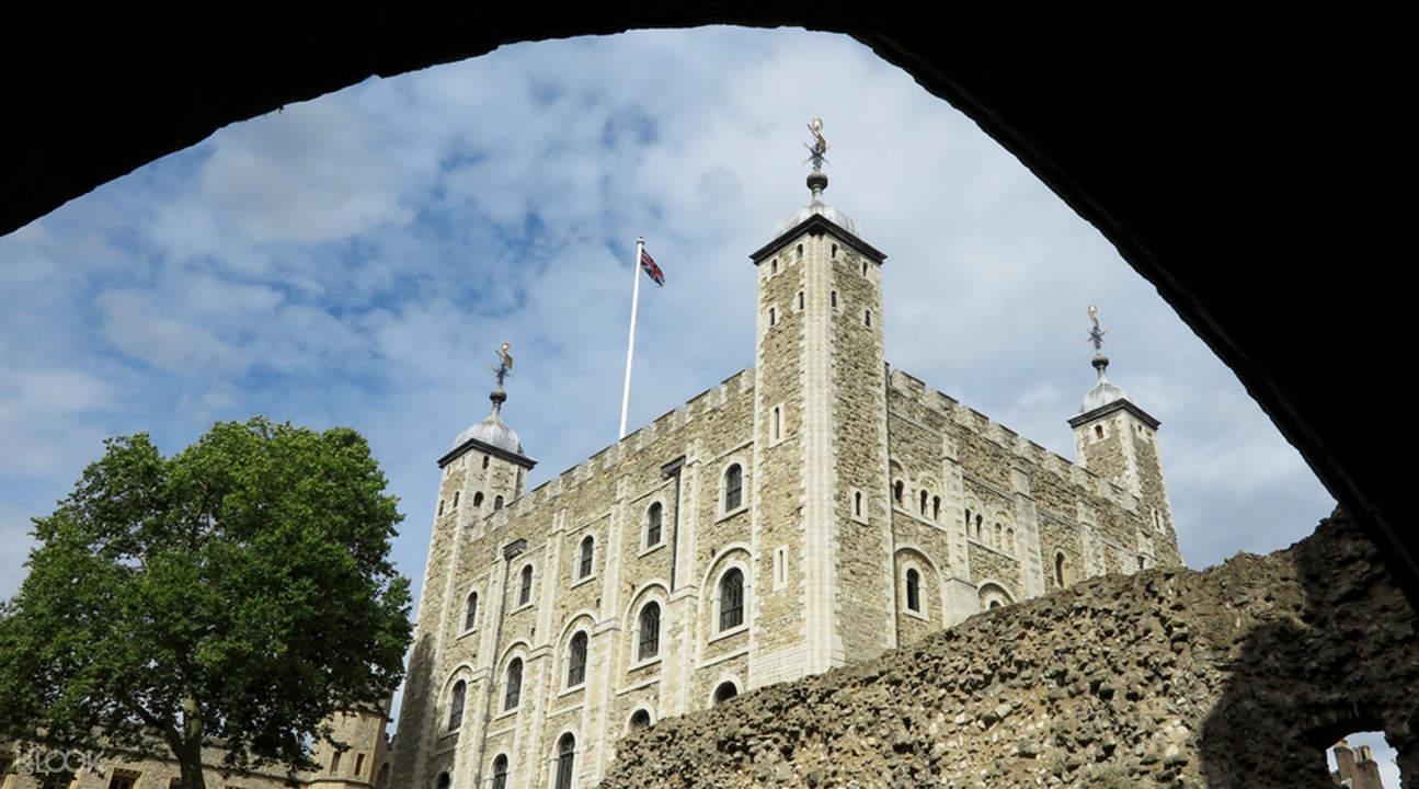vé vào tham quan tháp london