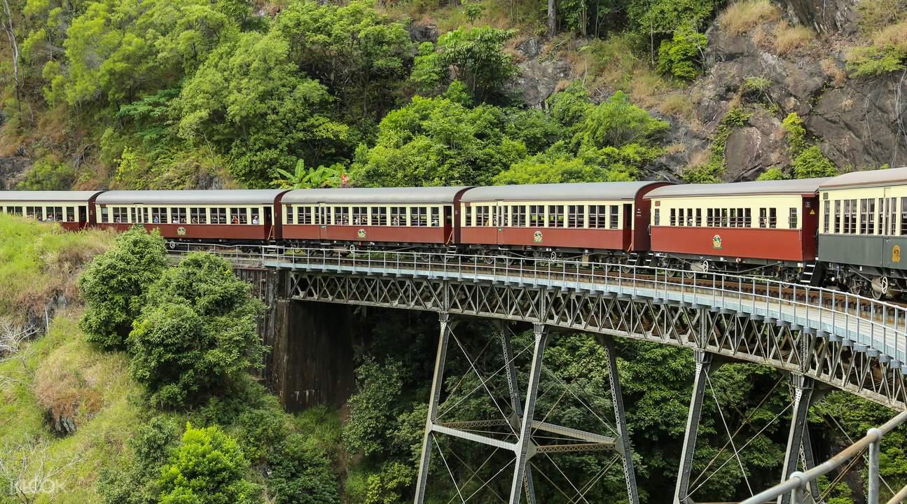 库兰达雨林鸭子船游 & 雨林缆车 & 观光火车