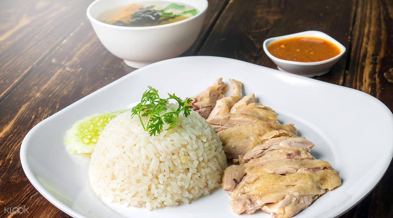 唐人街美食之旅雞飯