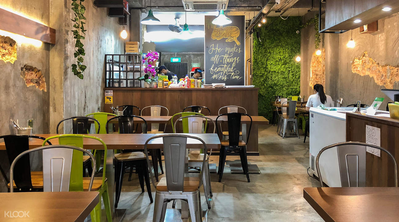 Mao Shan Wang Cafe interior
