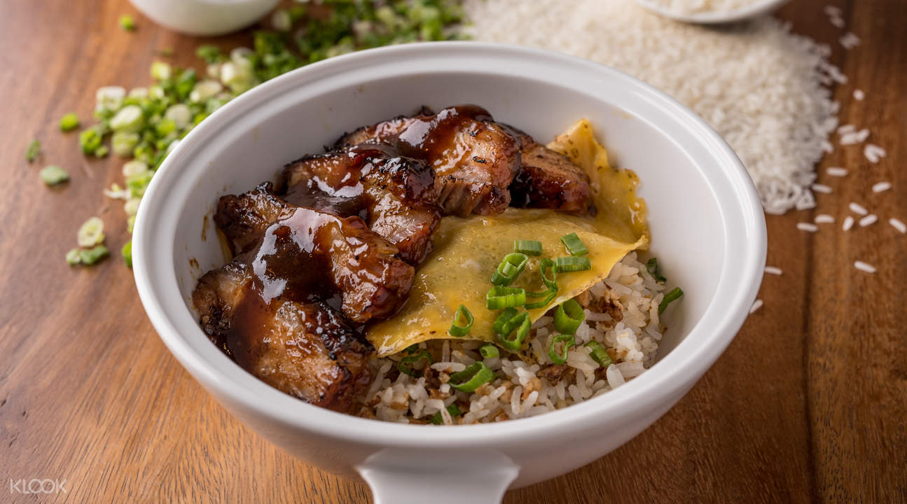 signature char siew rice one bowl restaurant and bar bugis singapore