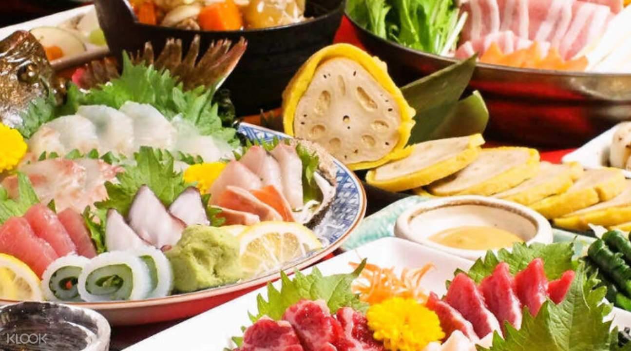 fresh seafood umaimon minato japan