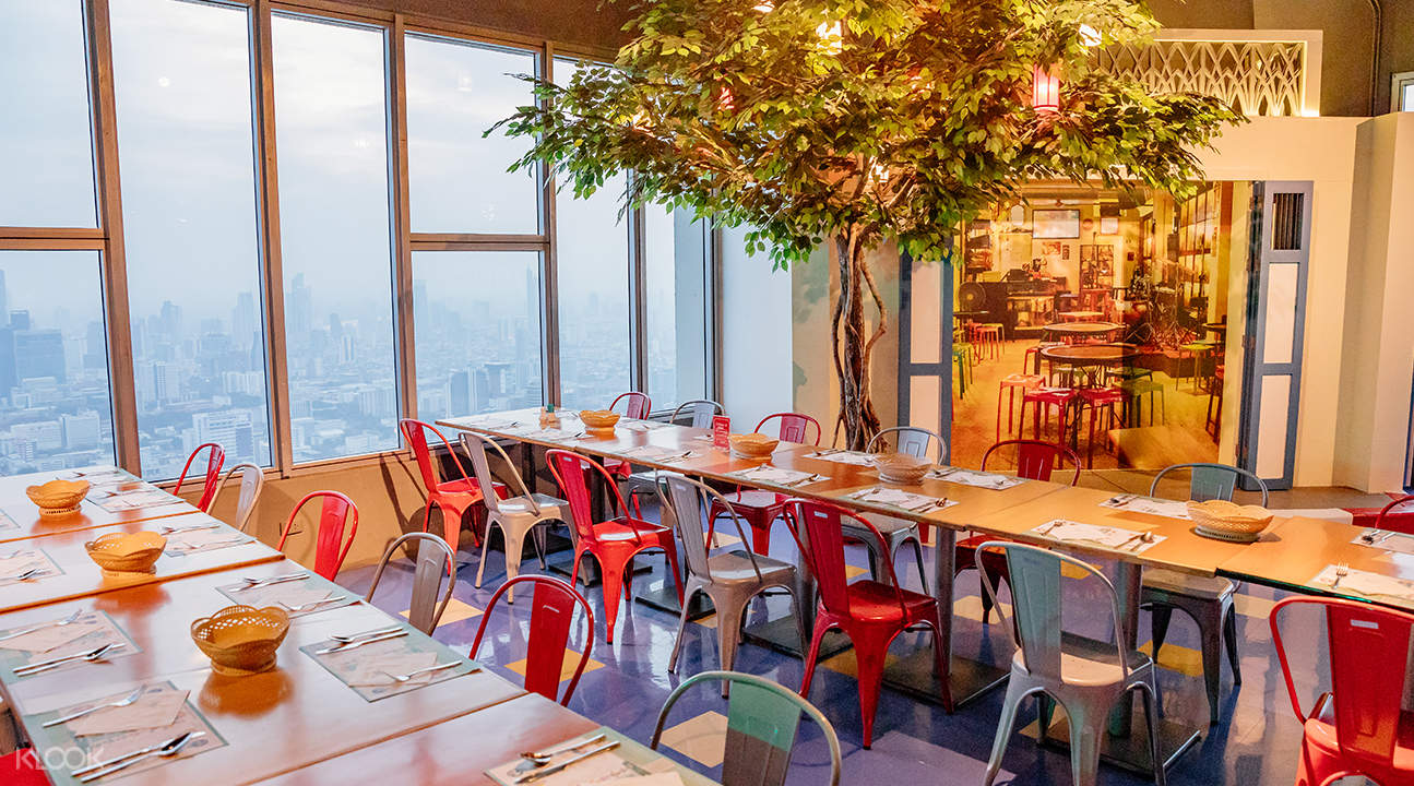 Sky high dining restaurant