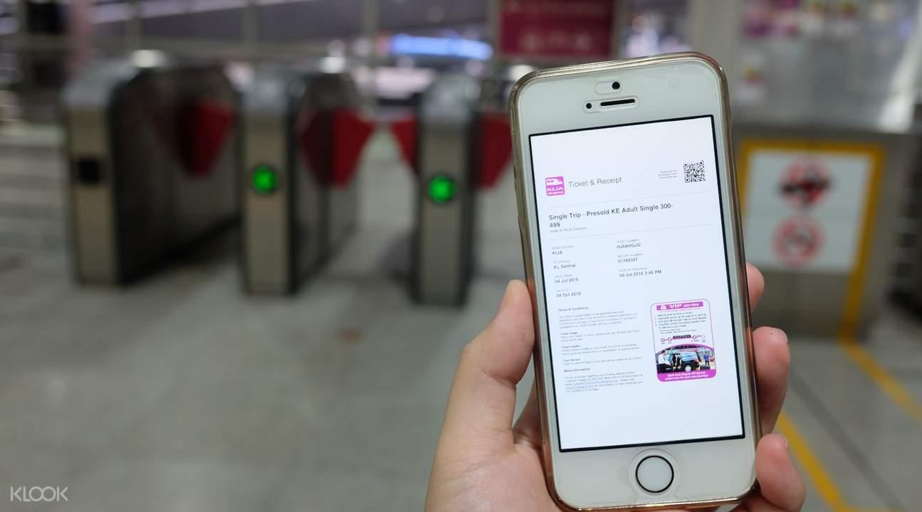 Vận chuyển từ sân bay Kuala Lumpur