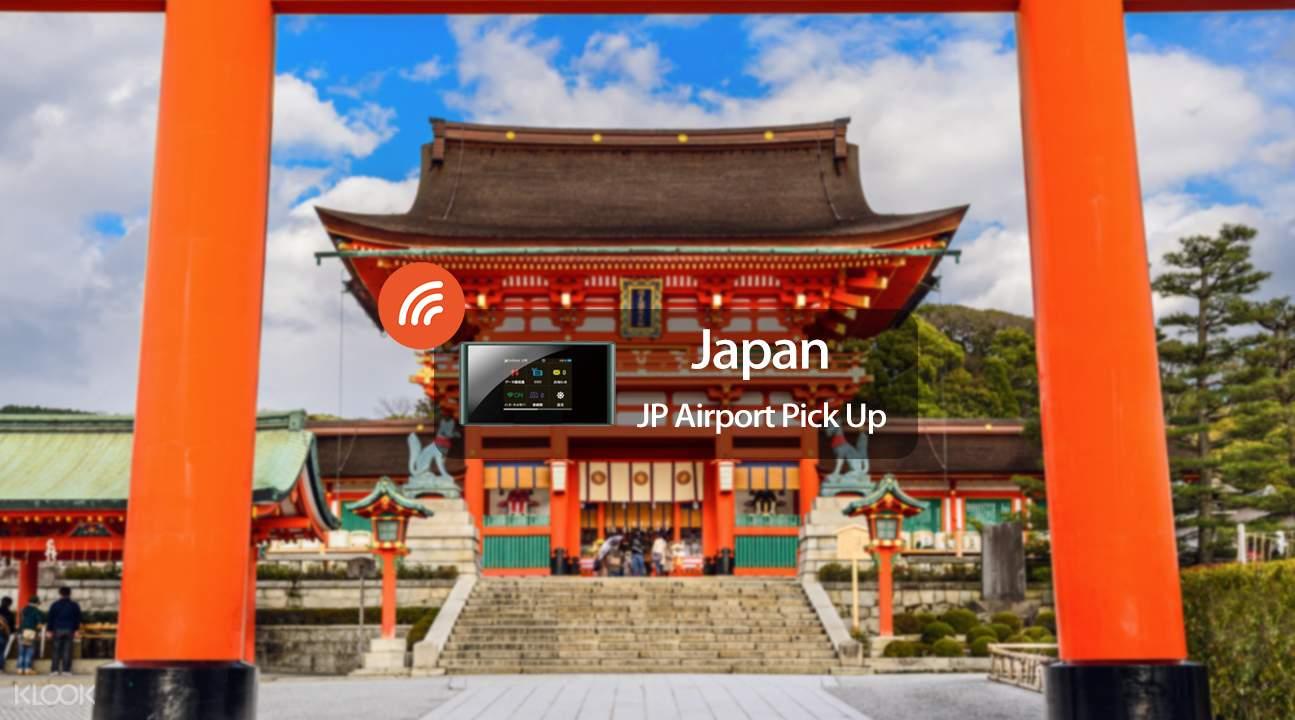 Penyewaan WiFi 4G Jepang
