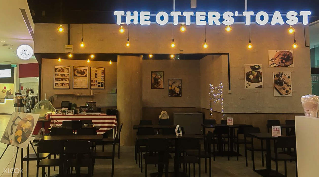 The Otters' Toast exterior