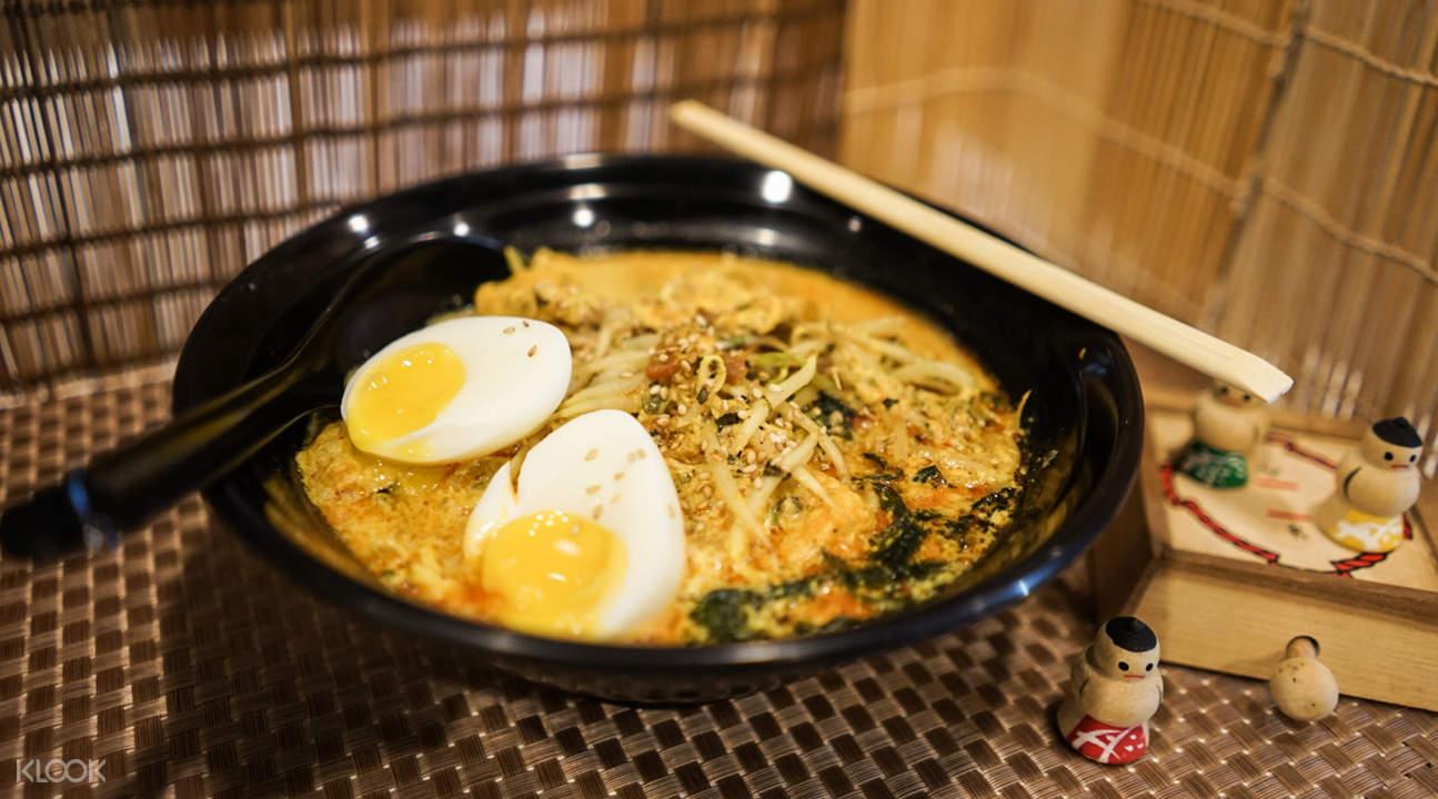 laksa soba healthy soba iki raffles place singapore