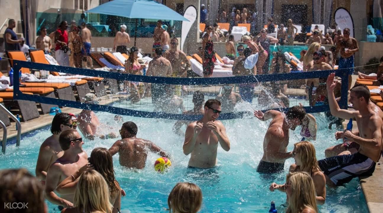 拉斯维加斯泳池派对