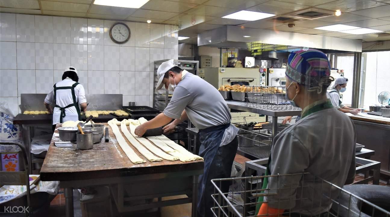 fu hang dou jiang bread and chinese donuts