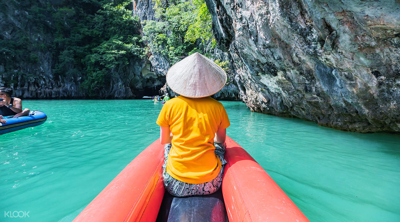 乘船游攀牙湾与詹姆斯邦德岛