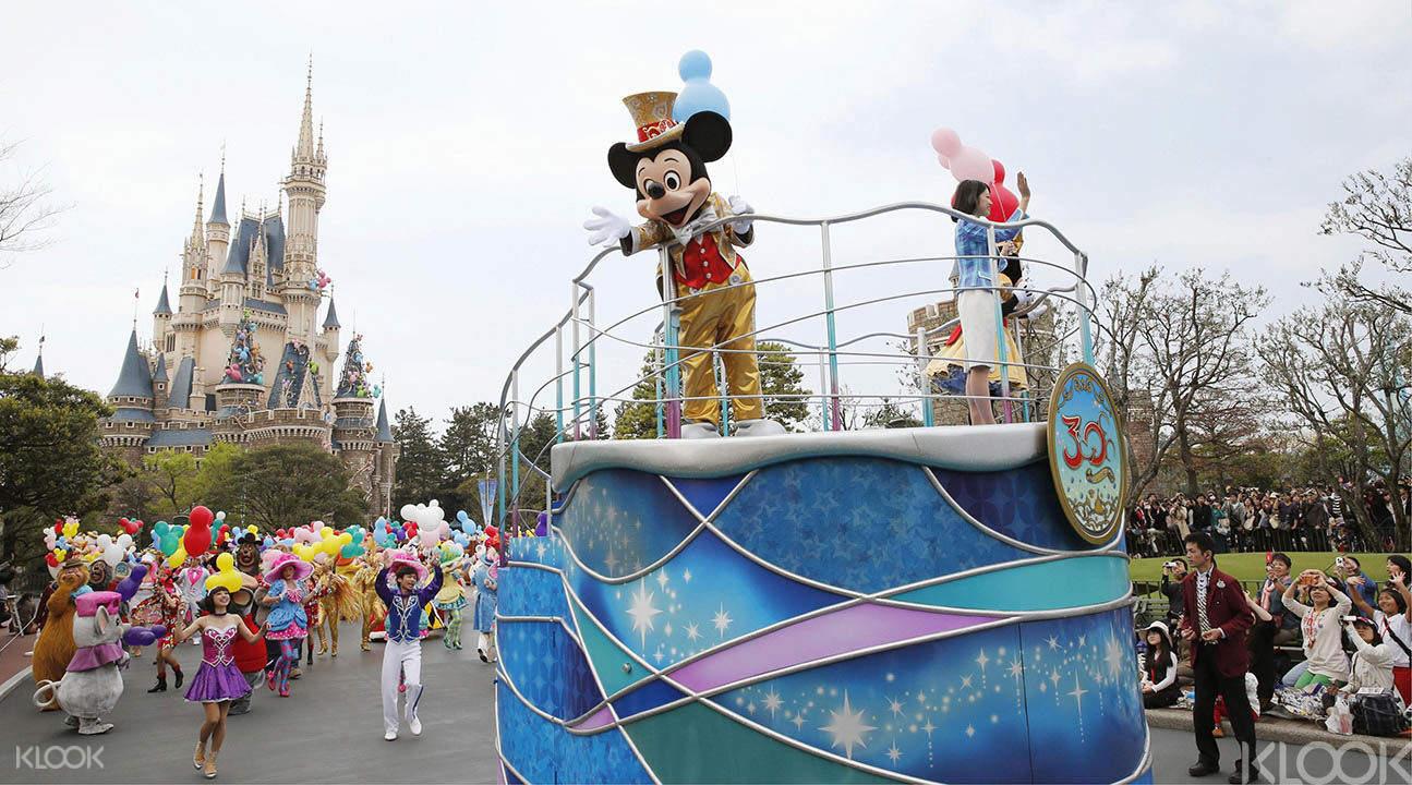 東京迪士尼/迪士尼海洋遊行