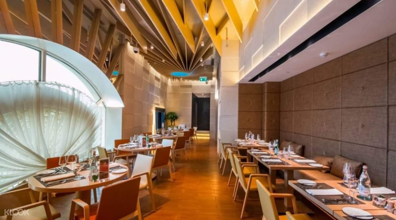 Terrace restaurant semi buffet di hotel okura macau klook for Hotel terrace and restaurant