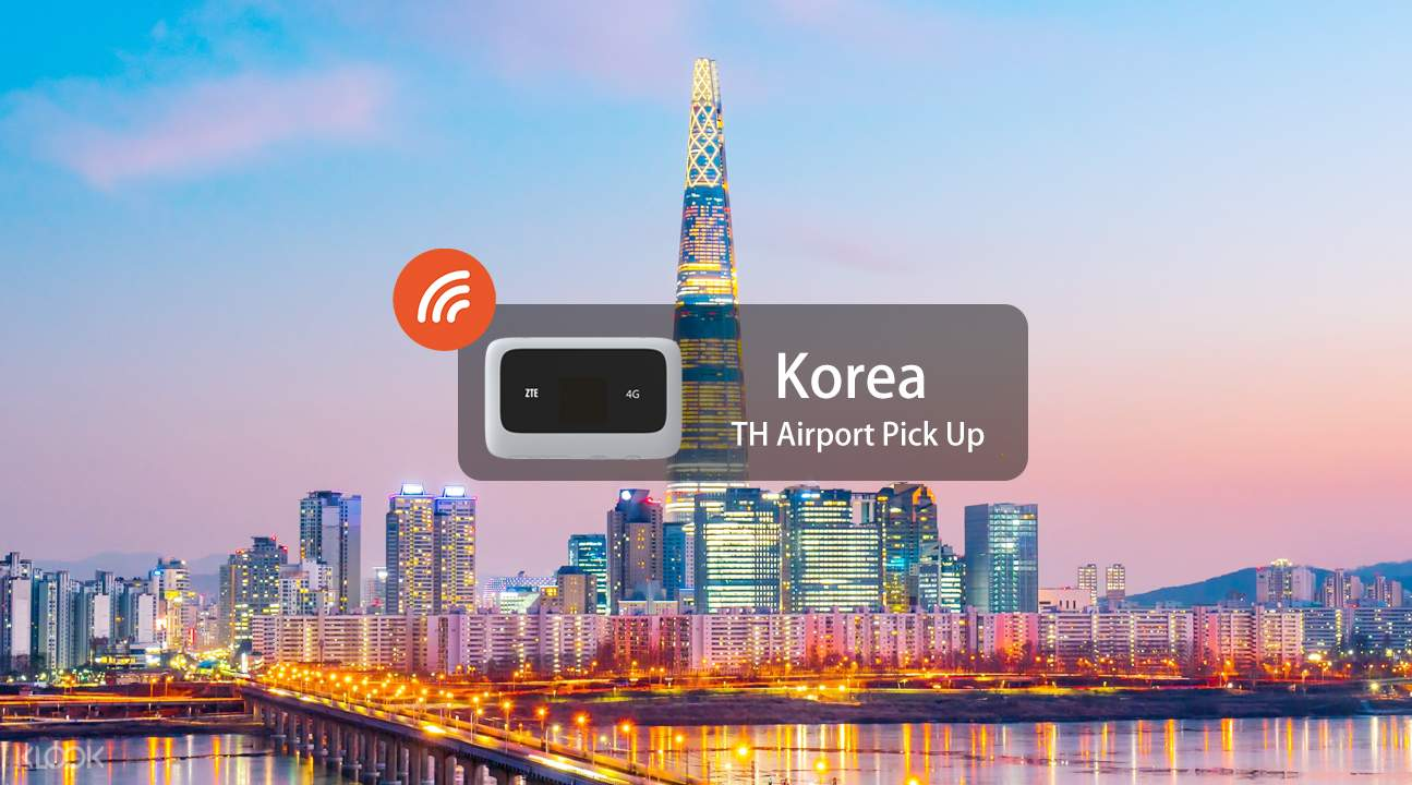 4G WiFi for South Korea