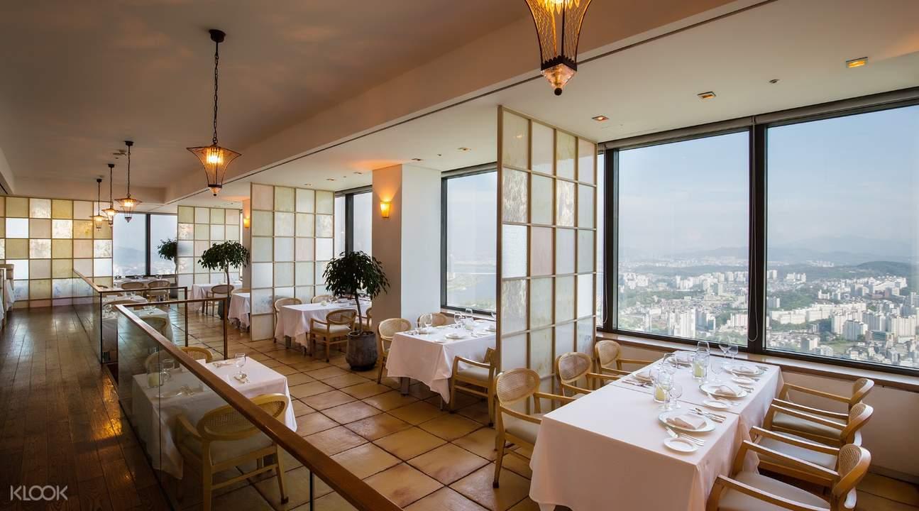 首爾63大廈漫步雲端餐廳優惠套餐