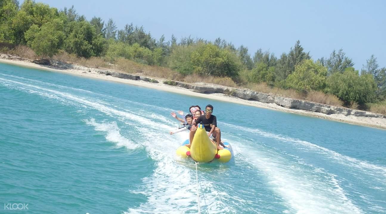 巴厘岛香蕉船