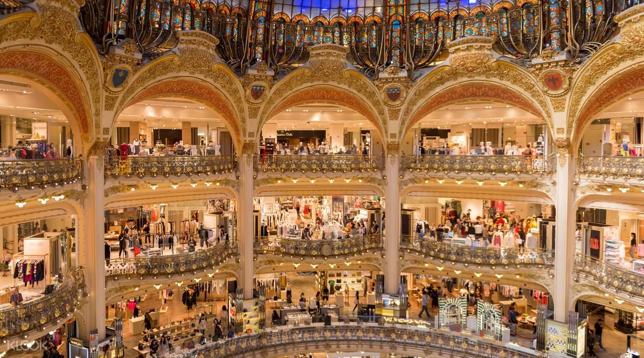Guided Historical Tour of Galeries Lafayette Paris Haussmann