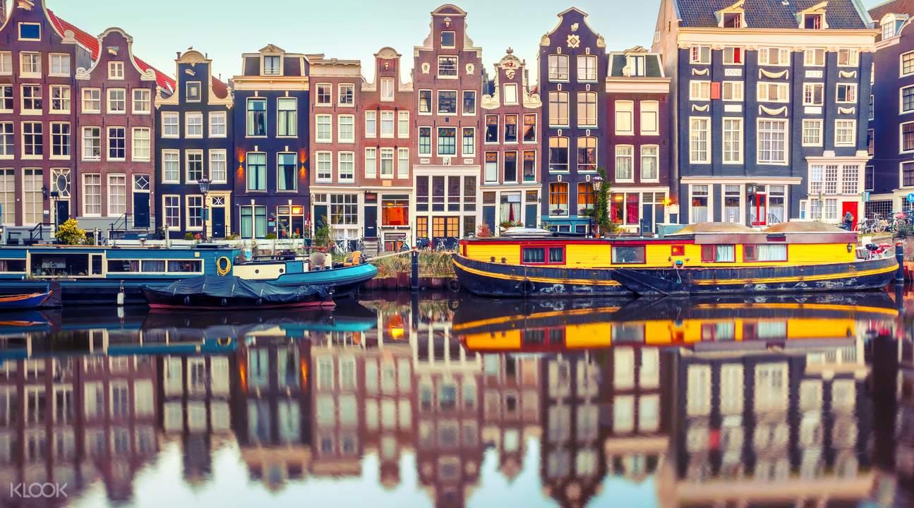 阿姆斯特丹城市风景