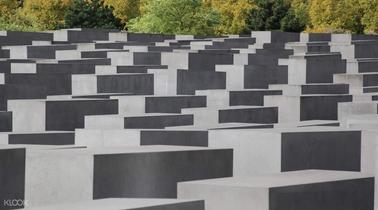 柏林半日遊歐洲被害猶太人紀念碑