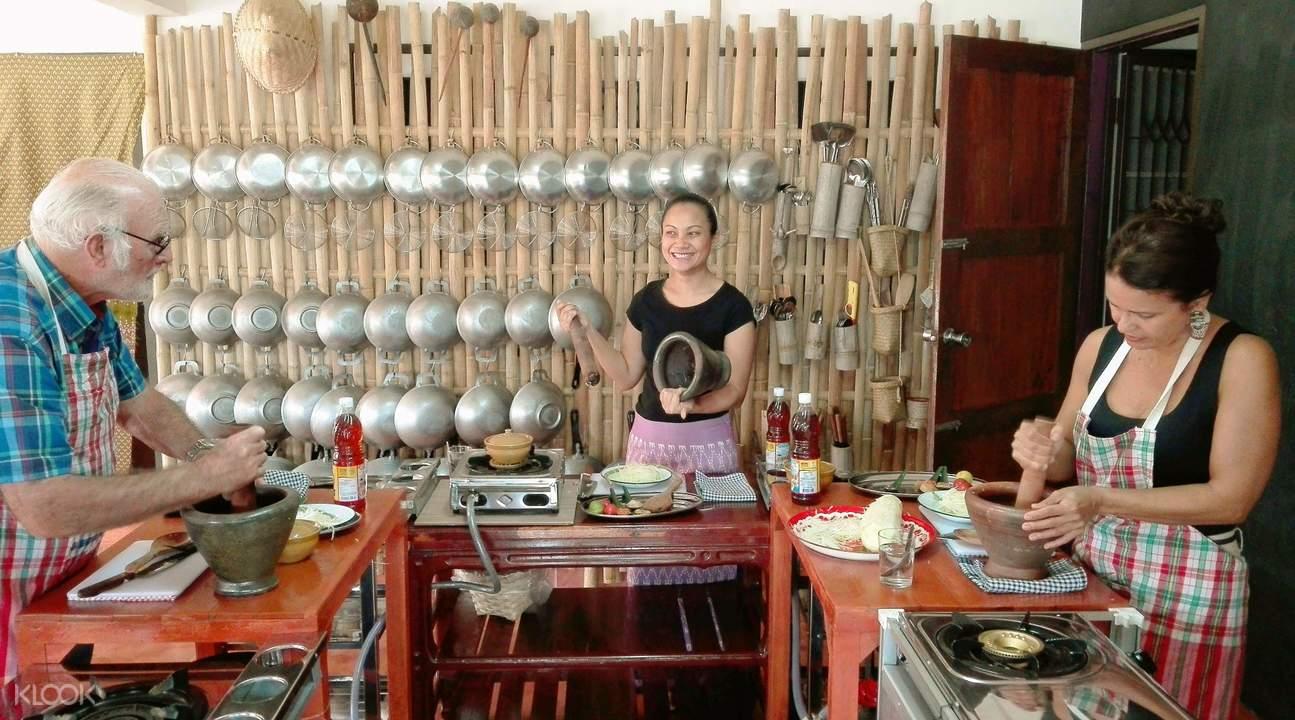 华欣Bamboo Thai Cooking Class烹饪体验