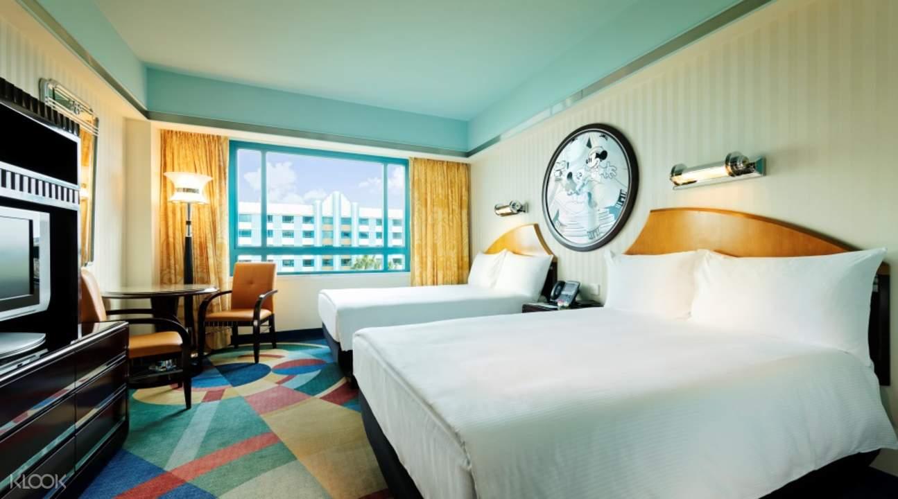 香港迪士尼好萊塢酒店酒店內部