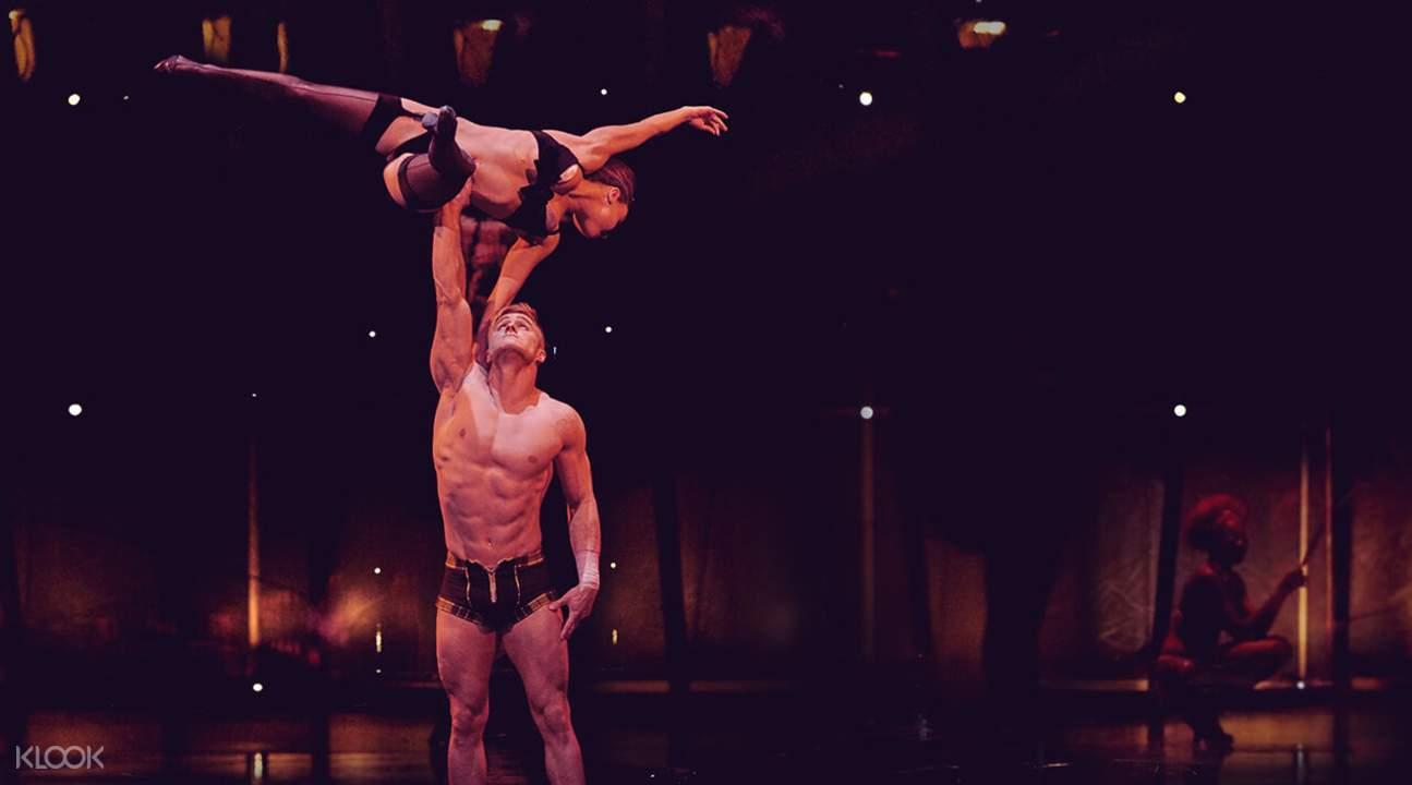 zumanity cirque du soleil ticket