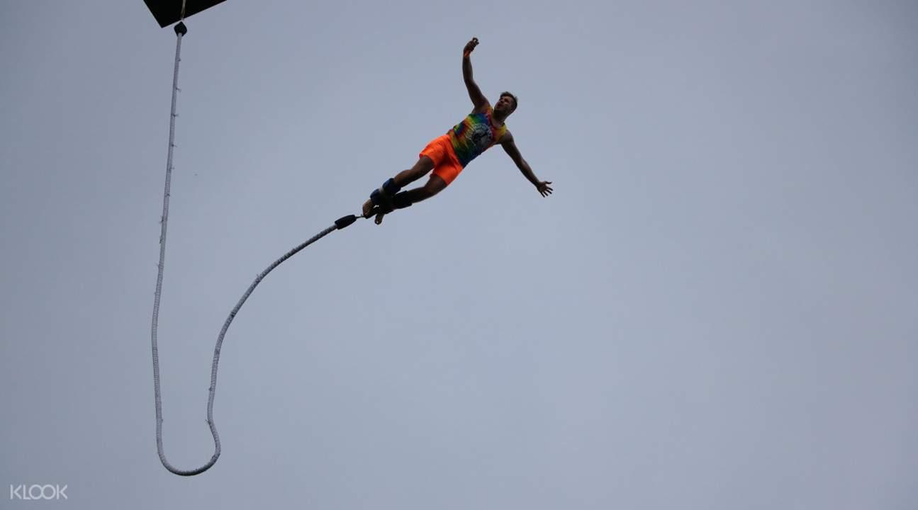 普吉島50米蹦極挑戰