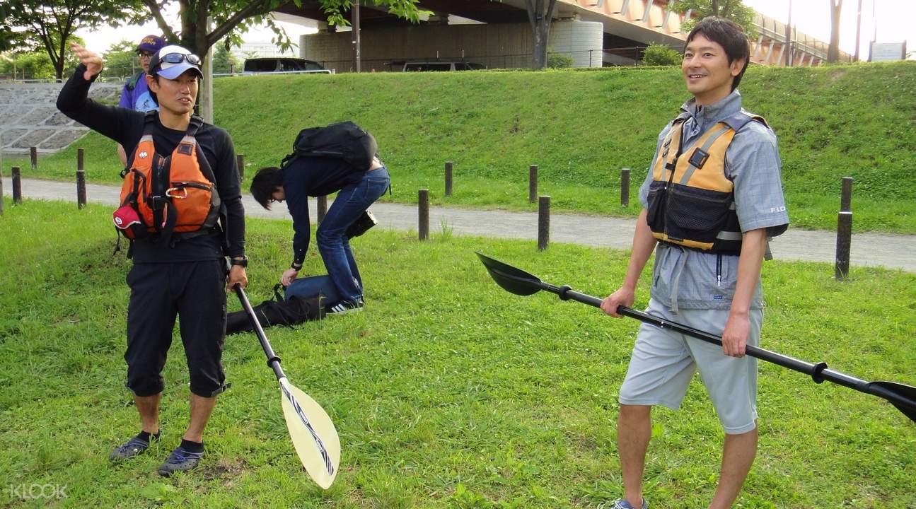 Canoe Experience around Tokyo Skytree Area