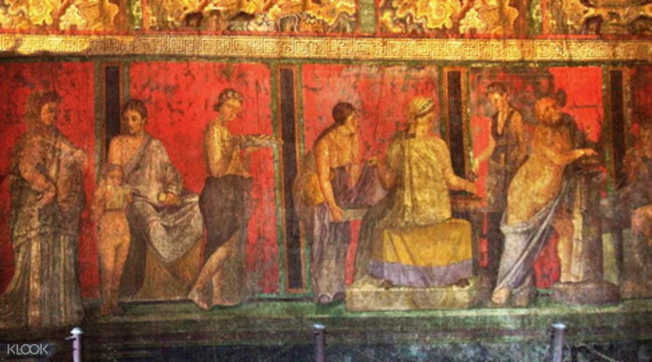 pompeii ruins art