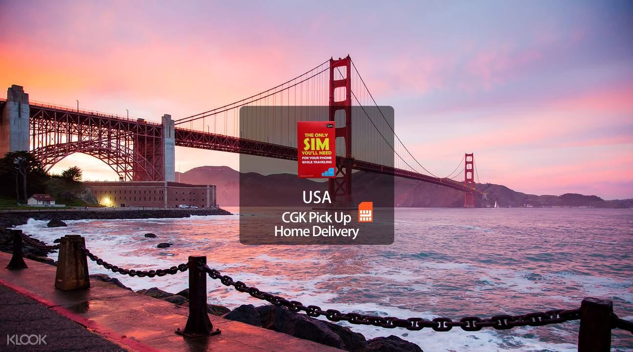 舊金山4G上網SIM卡