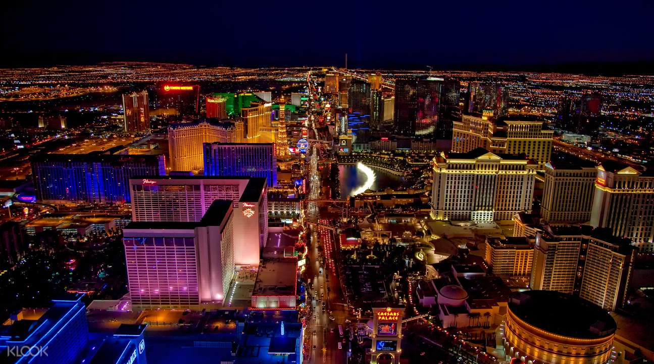 vegas dream sunset helicopter tour