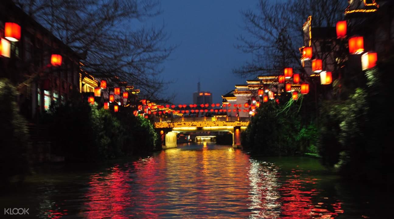 夜遊秦淮河