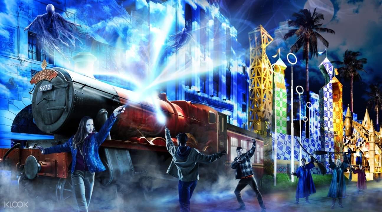 日本环球影城哈利波特魔法世界