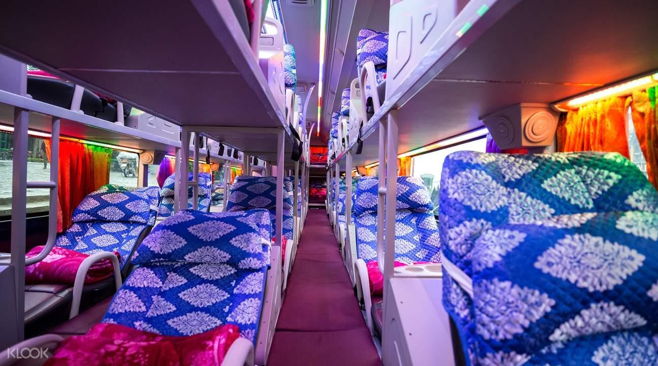 城市交通河內至沙巴穿梭巴士往返交通
