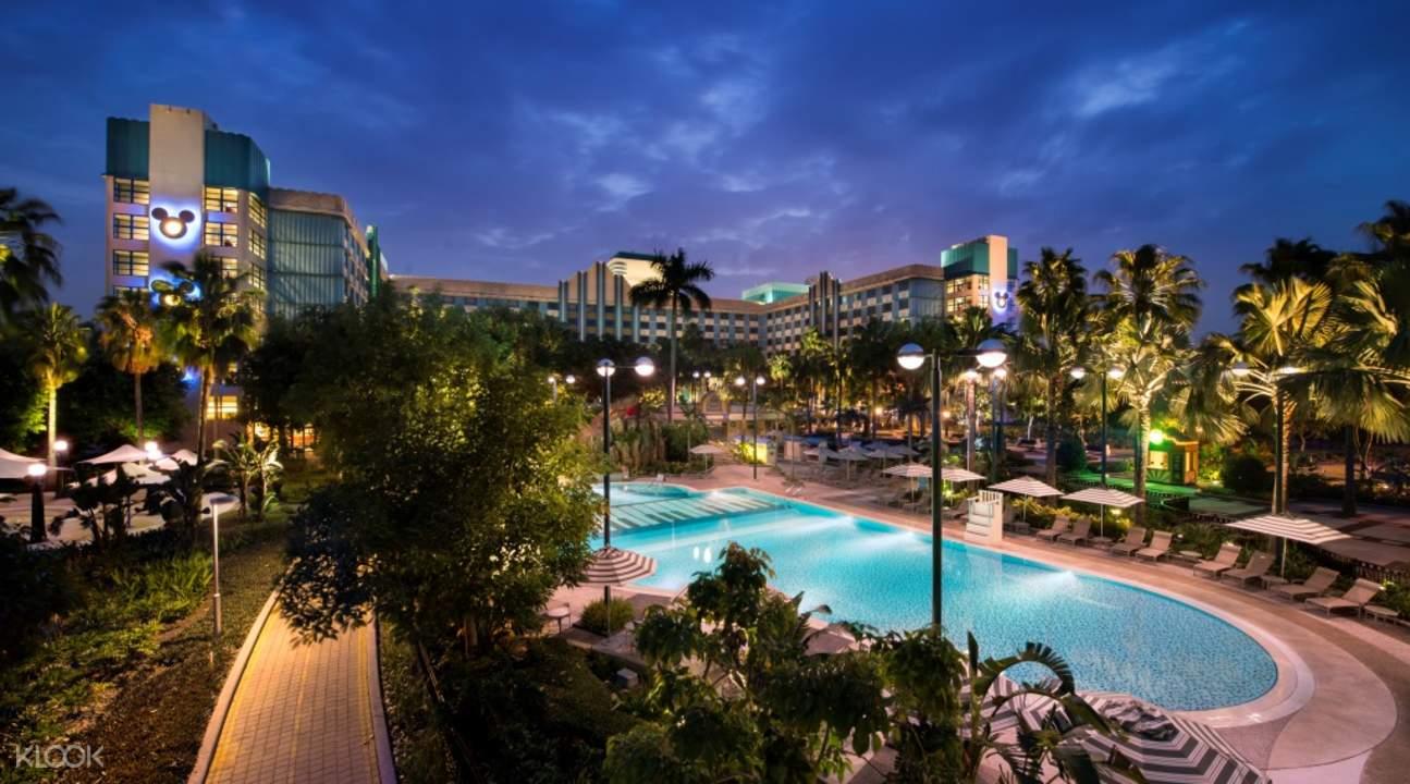 香港迪士尼好萊塢酒店酒店游泳池