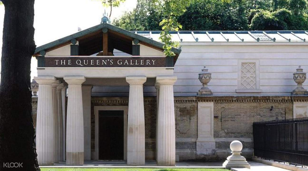 entrance to The Queen's Gallery at buckingham palace