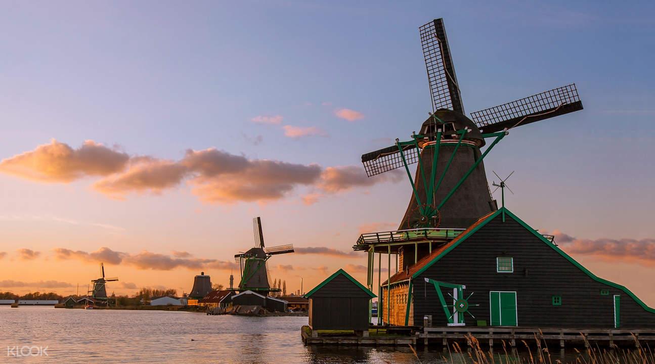 阿姆斯特丹風車之旅