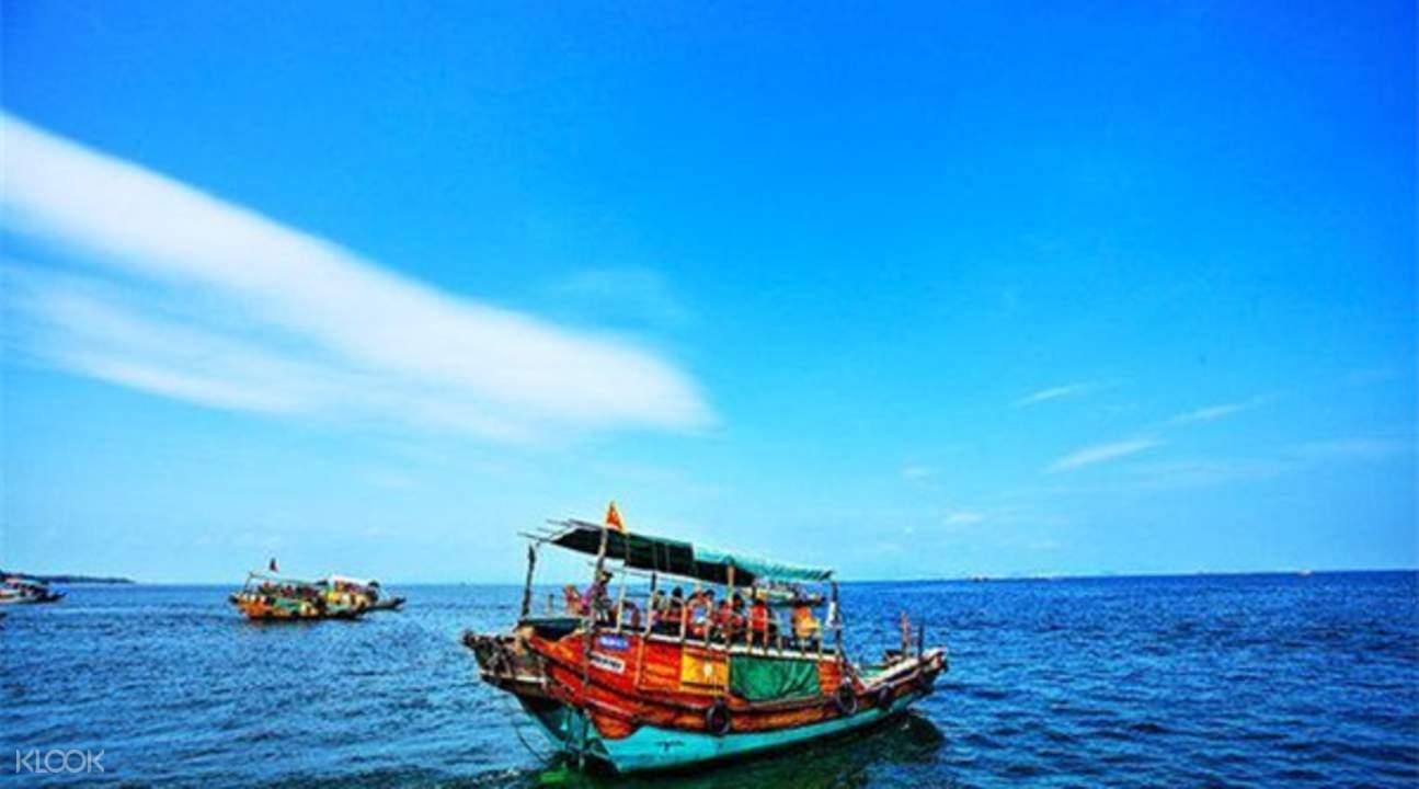 Xunliao bay boating Guangzhou