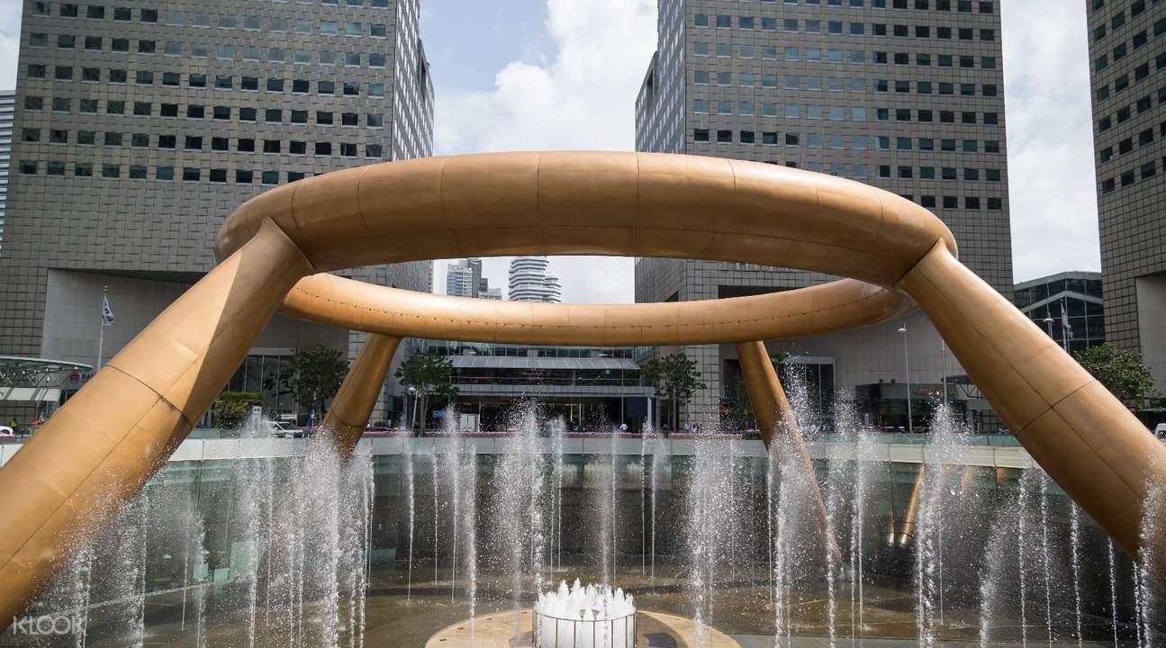 新加坡新達城財富噴泉