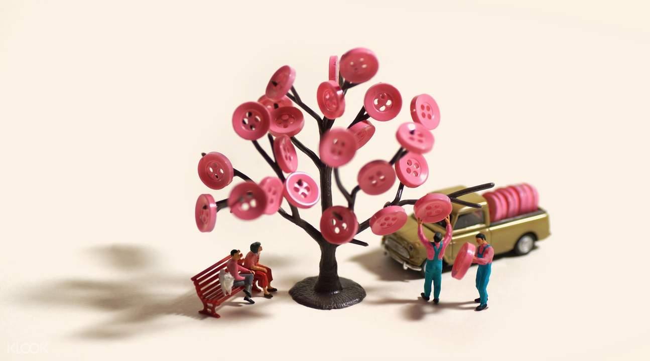 Tatsuya Tanaka miniature exhibit