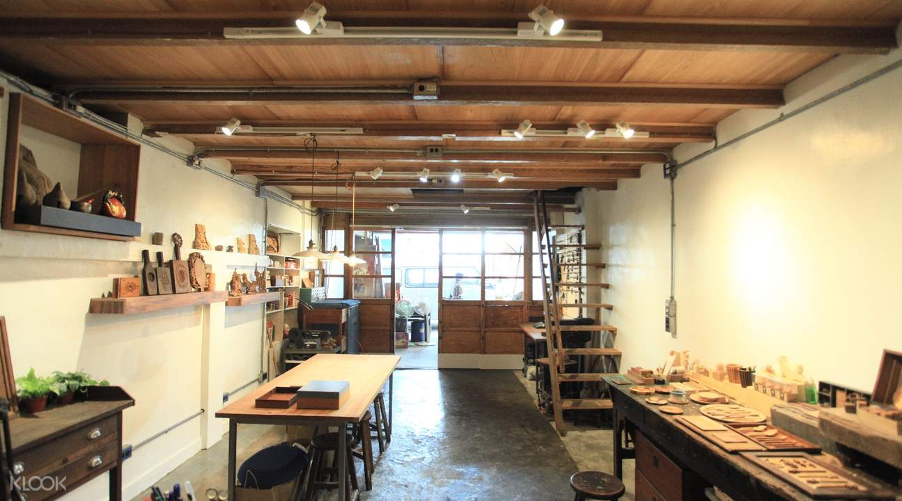 Wood Carving Workshop in Taichung