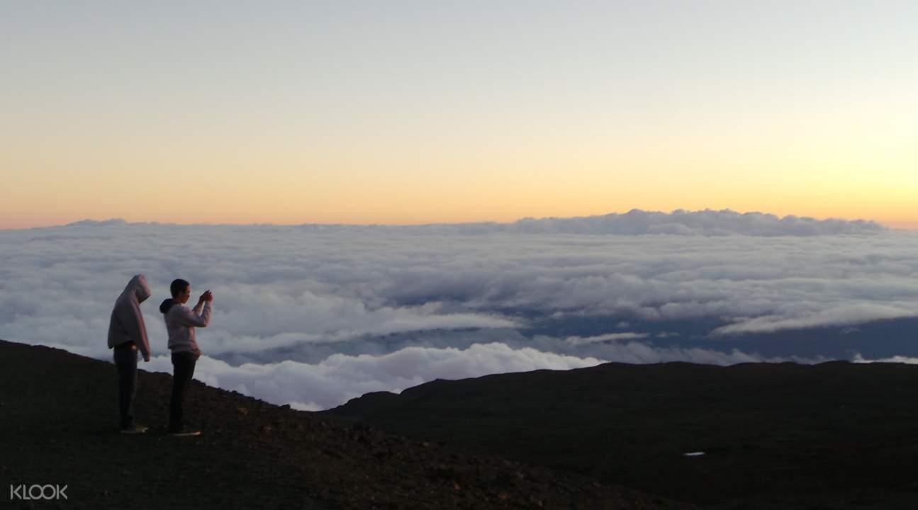 Mauna Kea sea of clouds