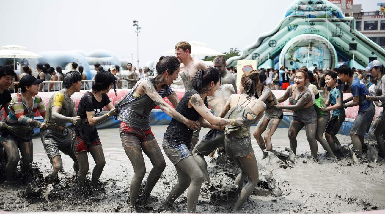 boryeong mud festival bus bus seomyun station