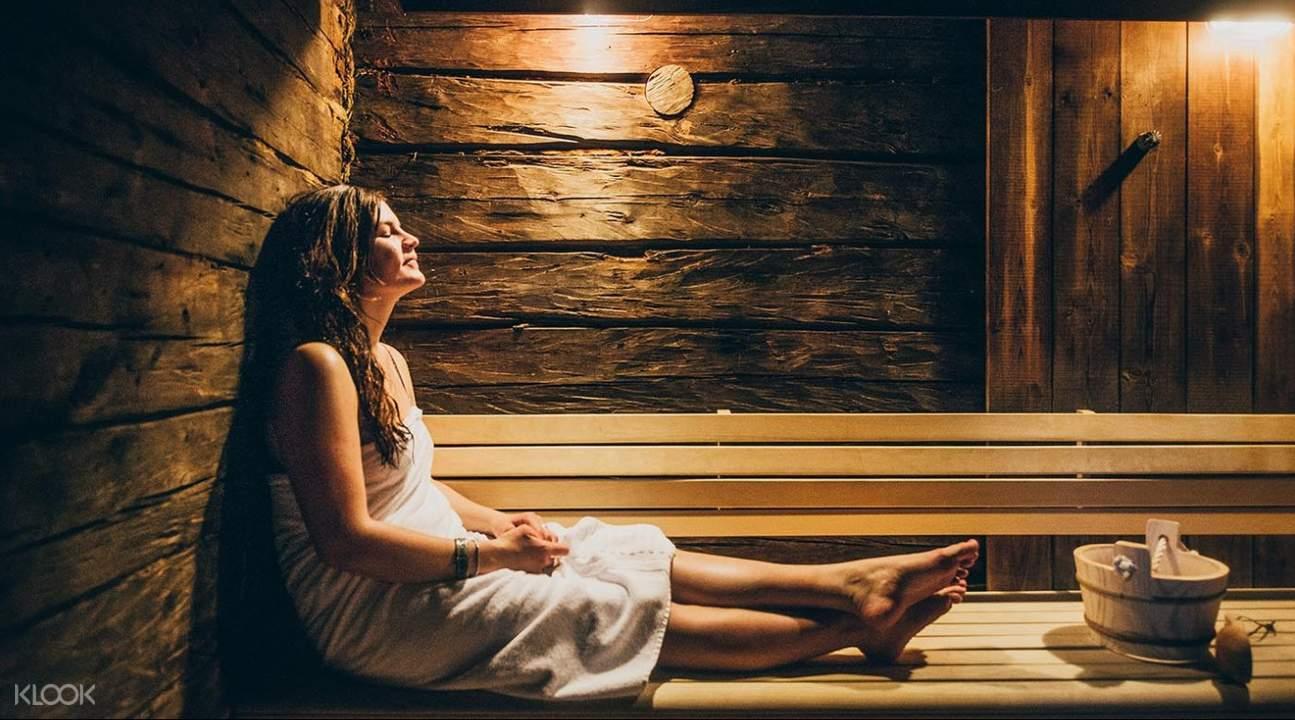 sauna experience lapland