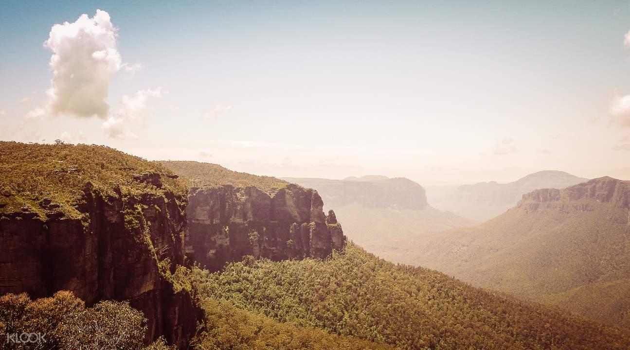 blue mountain explore natural landscapes