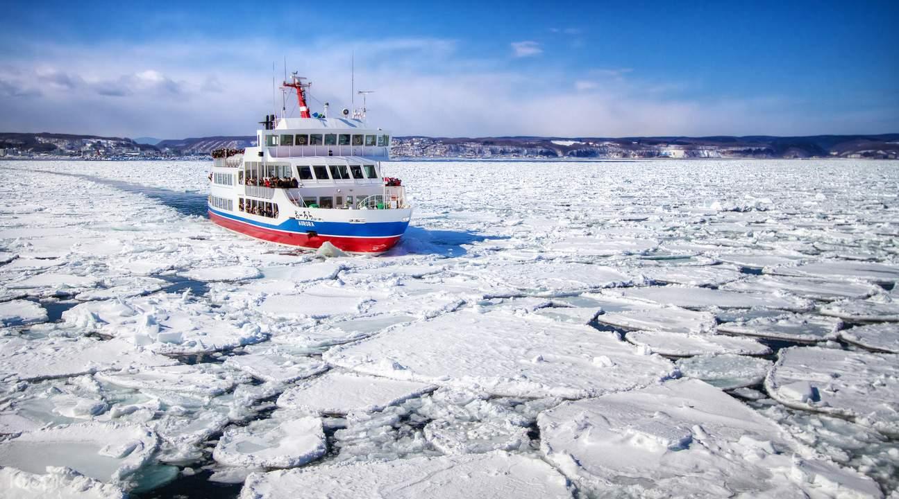 drift ice on aurora cruise