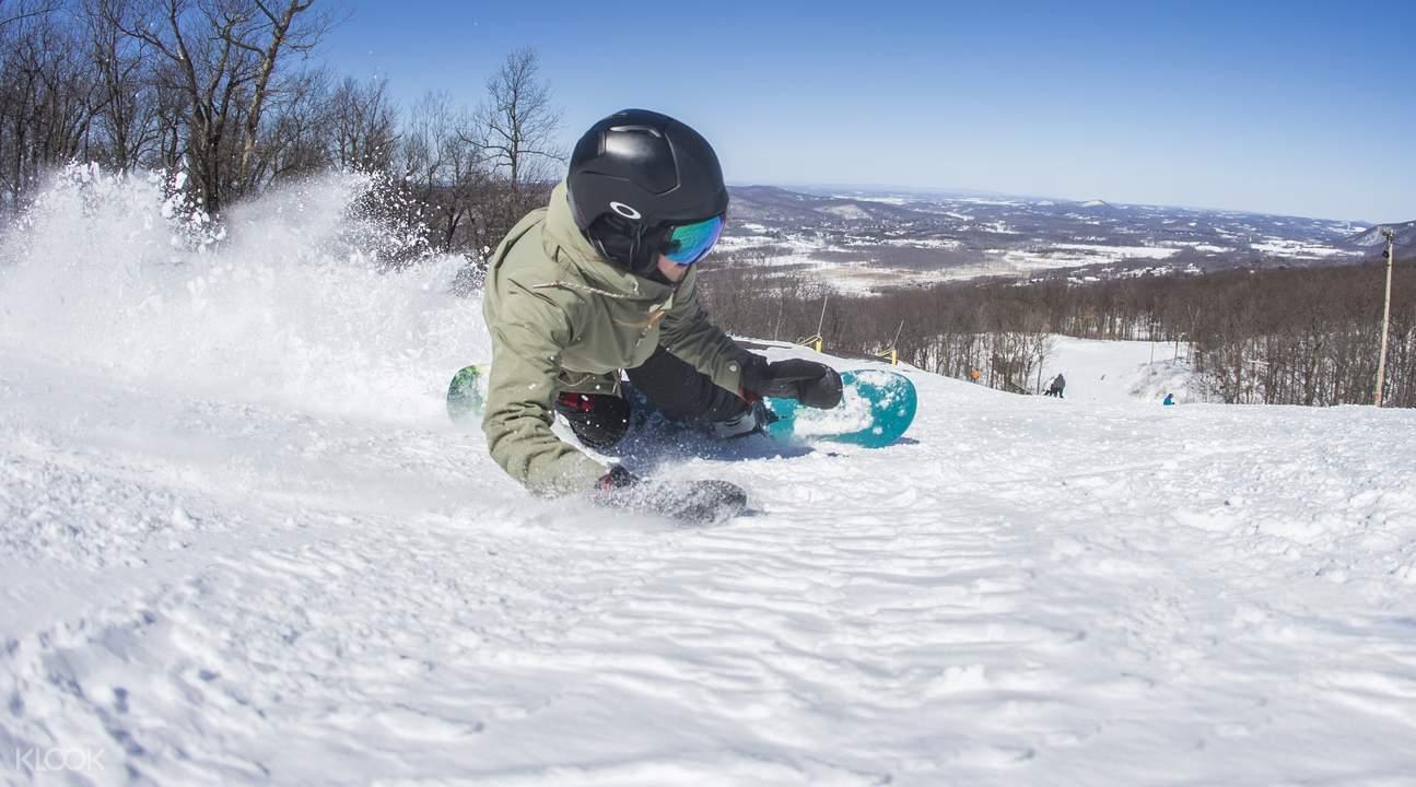 Mount Creek snowboarding
