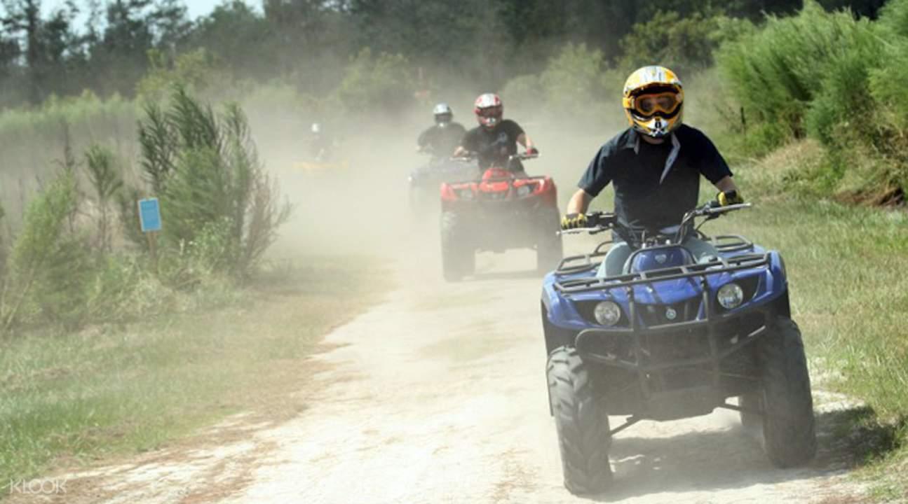 芭提雅 Sanook公园 ATV四轮驱动摩托